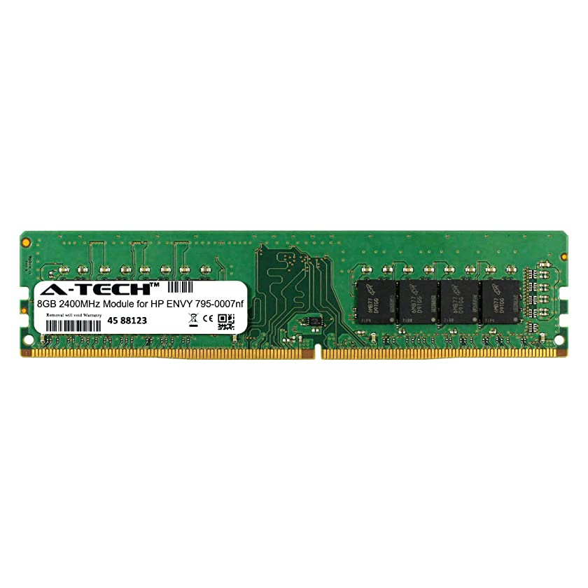 A-Tech 8GB Module for HP Envy 795-0007nf Desktop & Workstation Motherboard Compatible DDR4 2400Mhz Memory Ram (ATMS274147A25820X1)