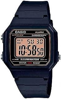 Casio Men's Watch, Digital Display and Rubber Strap W-217H-9Avdf