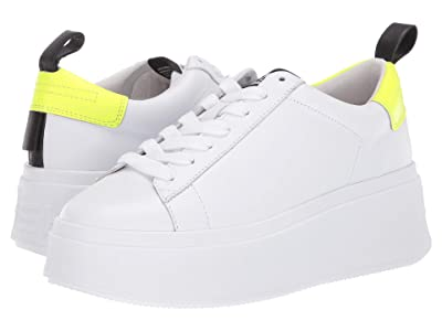 ASH Moon (White/Fluo Yellow/Black) Women