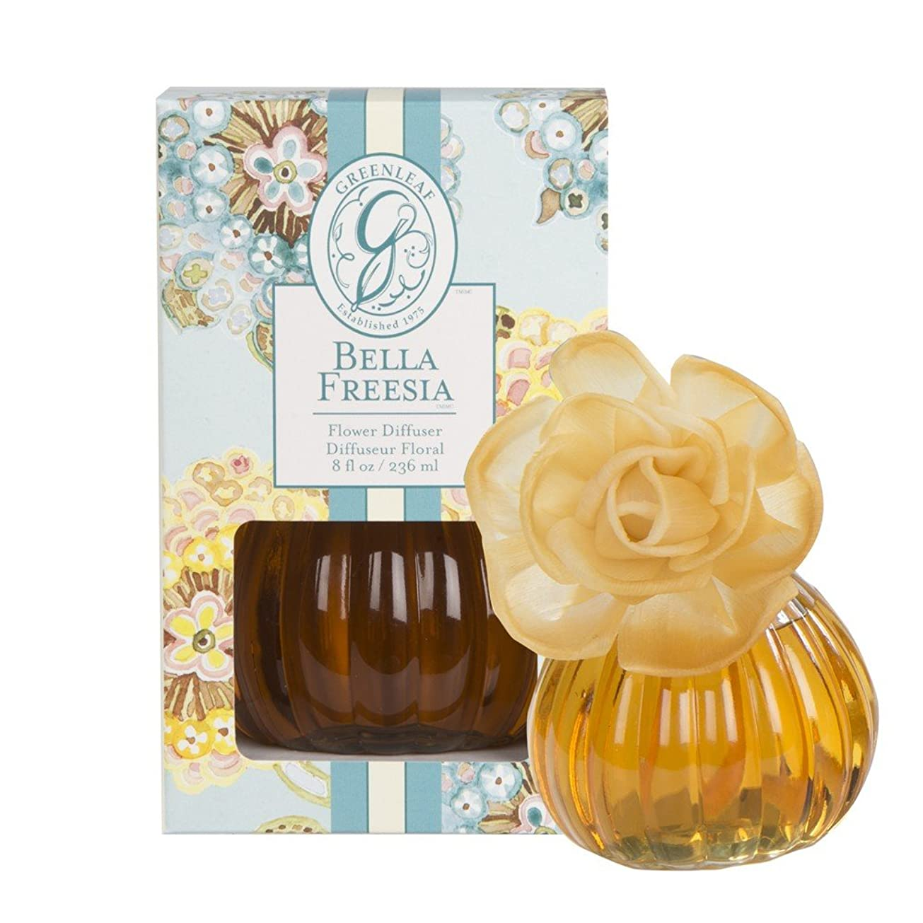 ピンチ耳場合GREENLEAF FLOWER DIFFUSER BELLA FREESIA