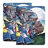 Howl's Moving Castle Case for Ipad 10.2 Inch Flip Cover is Suitable for 8th/7th Generation,Slim Stand Protective Cover Shell with Auto Wake/Sleep