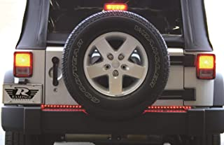 """RAMPAGE PRODUCTS 960134 Universal 60"""" LED Tailgate Light Bar, Black"""