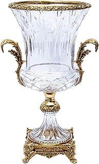 Hong Yi Fei-shop Decoración de Hogar Vintage y Elegante Cristal florero de Cristal, Arte hogar, artículos de Escritorio, M...