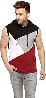 GRITSTONES Men's Solid Regular Fit T-Shirt
