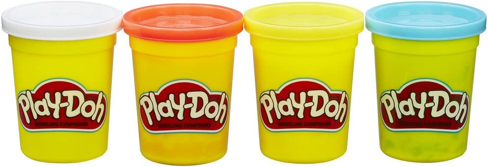 Play-Doh Surprise price Hasbro 4Pack All items free shipping Colors–Blue Yellow Basic