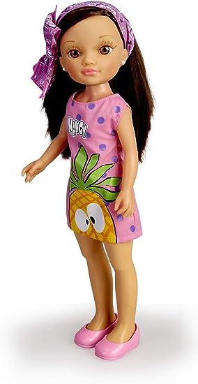 Nancy- Un Día de pañuelos Trendy Morena, Color Lila (Famosa ...