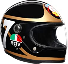 AGV Legends X3000 Limited Edition Barry Sheene Replica Helmet (Black/Gold), Size: Medium-Small