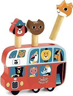VILAC - jouet en bois - Jeux d'éveil - Pop-up autobus Ingela P.Arrhenius - 7751
