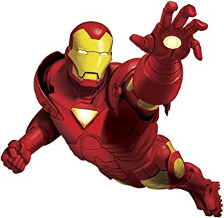 Marvel Superhero Comic - The Avengers - Tony Stark Iron Man Giant Wall Decal - Pre-Cut Peel and Stick Sticker Decor Party Decoration