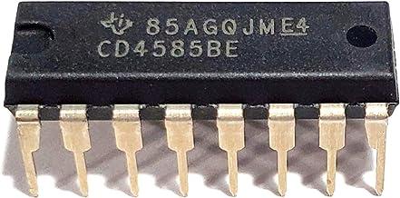 Juried Engineering CD4585BE CD4585B CD4585 4-Bit Magnitude Comparators Breadboard-Friendly IC DIP-16 (1 Piece)