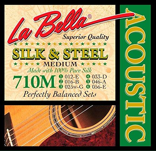 La Bella 710M Silk & Steel Medium