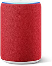All-new Echo (3rd Generation)- Smart Speaker with Alexa, (RED) edition