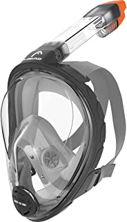 Head by Mares Seaview 180° Panoramic View Full Face Snorkeling Mask, (Designed and Manufactured in Italy)
