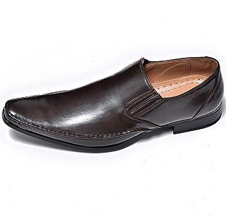 [エムエムワン] ビジネスシューズ メンズ 紳士靴 靴 【AZ100B】 全ダークブラウン色