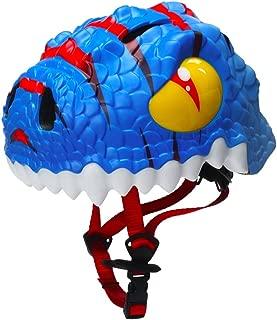 Zjoygoo 3D Design Dinosaur Kids Helmet 3-8 Years Toddler Helmet Sports Protective Gear Hoverboard Bicycle Skateboard Adjustable Helmets for Kids Child Boys Girls Safety Helmet Age 3-5 6-8