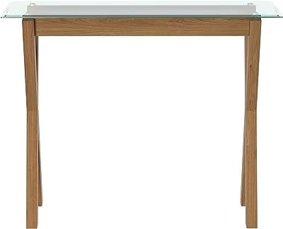 Movian Console rectangulaire en Verre trempé - 100 x 35 x 80 cm