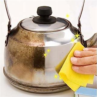 コモライフ 水だけで落ちるこげとりクロス キッチン 焦げ落とし 焦げ取り 掃除 鍋 やかん 汚れ シート