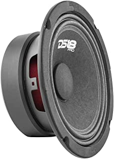"$28 » DS18 PRO-GM8.4 Loudspeaker - 8"", Midrange, Black Steel Basket, 580W Max, 190W RMS, 4 Ohms - Premium Quality Audio Door Spe..."