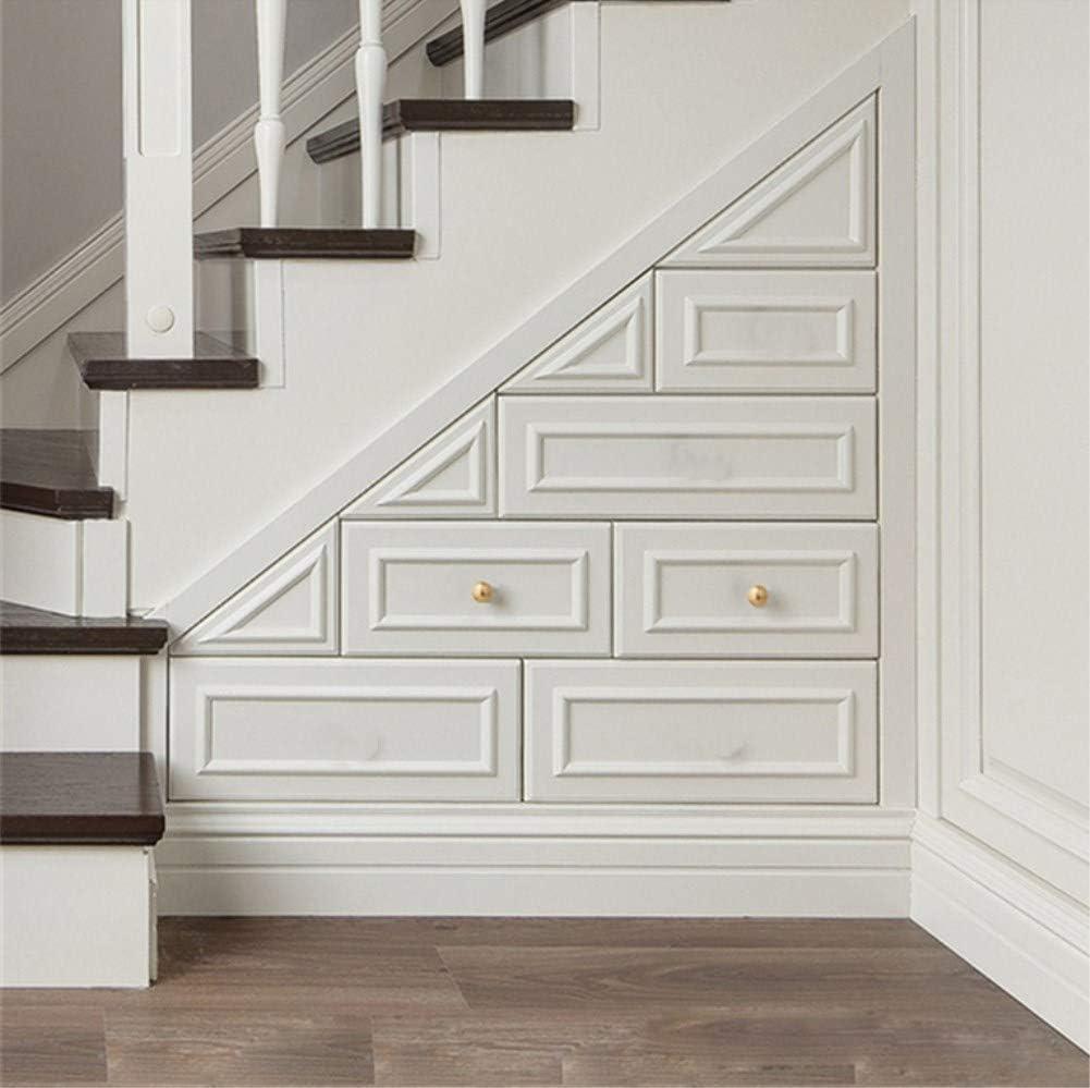 Le mobilier moderne d'alliage de zinc d'or simple de style manipule la porte en bois, 128MM 24mm