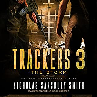 Trackers 3: The Storm audiobook cover art