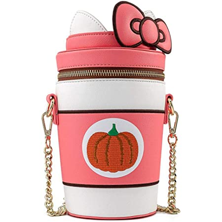 Loungefly Sanrio Hello Kitty Pumpkin Spice Latte Wave Crossbody Bag NEW IN STOCK