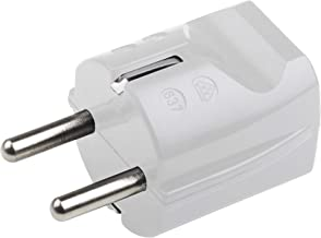 Meister 7421010 Aarding contactstekker - kunststof - wit - 250 V - 16 A - maximale kabeldoorsnede 2,5 mm² - IP20 binnenshu...