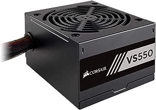 Corsair VS550 - Fuente de alimentación (550 Watts, PFC Activo, 80 Plus) Color Negro CP-9020171-EU