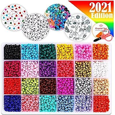 FunzBo Beads Jewelry Making Kit Beads for Brace...