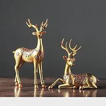 Elanden creatieve woonkamer decoratie thuis TV wijnkast decoratie ambachten meubels