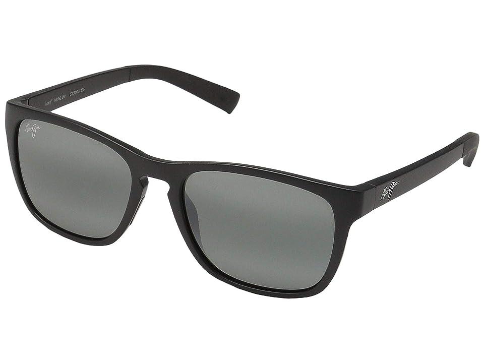 Maui Jim Longitude (Matte Black/Neutral Grey) Fashion Sunglasses