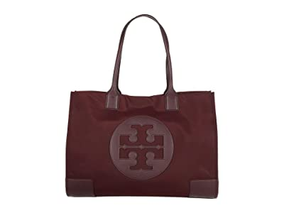 Tory Burch Ella Tote (Claret) Handbags
