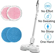 BOBOT Mop King Cordless Electric Hard Mop Wood Floor Cleaner Updated Motor and Adjustable Handle Mopping Power Wet Mop Dry Mop Waxing are Supported One-Key to Spray Water Mops for Floor Cleaning