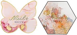 FRCOLOR Hars Nail Art palet, kristal, gelpolish, mengplaat, make-up, tray, palet, nail art, schilderen, gel, cosmetica, pa...