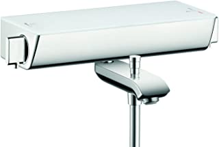 Hansgrohe 汉斯格雅 易斯达Select 明装 恒温浴缸龙头, 2路出水, 白色/镀铬