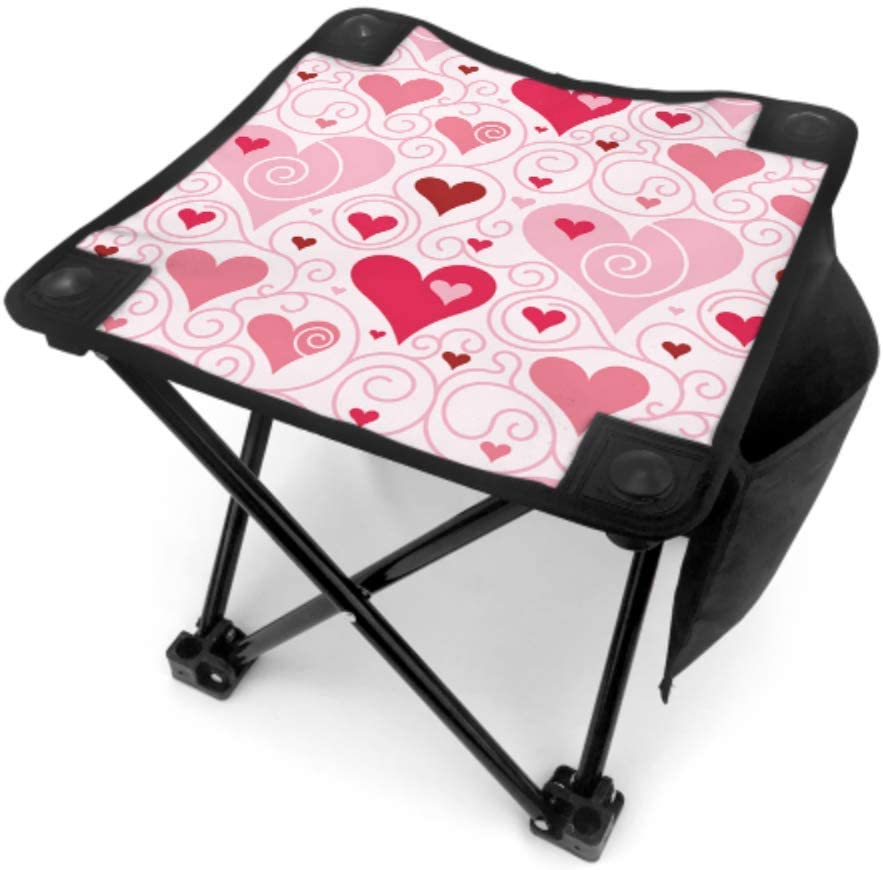 MOVTBA Folding Super-cheap Stool Fishing Valentine Direct stock discount Day Chairs Romant