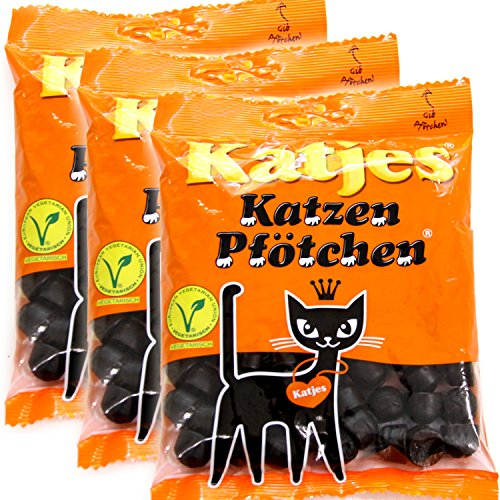 カッチェス カッチェン 200g 3袋セット 不味いで評判の輸入グミ リコリス ドイツグミ