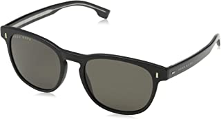 نظارات شمسية للرجال من هوغو بوس اسود مطفي/رمادي، بوس 0927/S IR 003 53