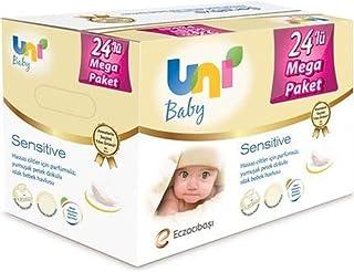 Uni Baby Sensitive Islak Havlu 56 lı 24 Adet 1344 Yaprak