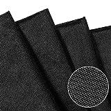 Schwarz Schmelzbare Schnittstelle, Nicht Gewebtes Polyester
