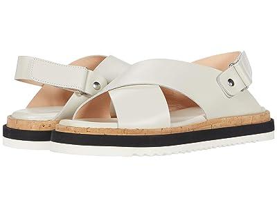 AGL Criss Cross Sport Sandal (Off-White) Women