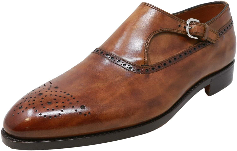 Bontoni Men's Orsini Ankle-High Leather Oxford
