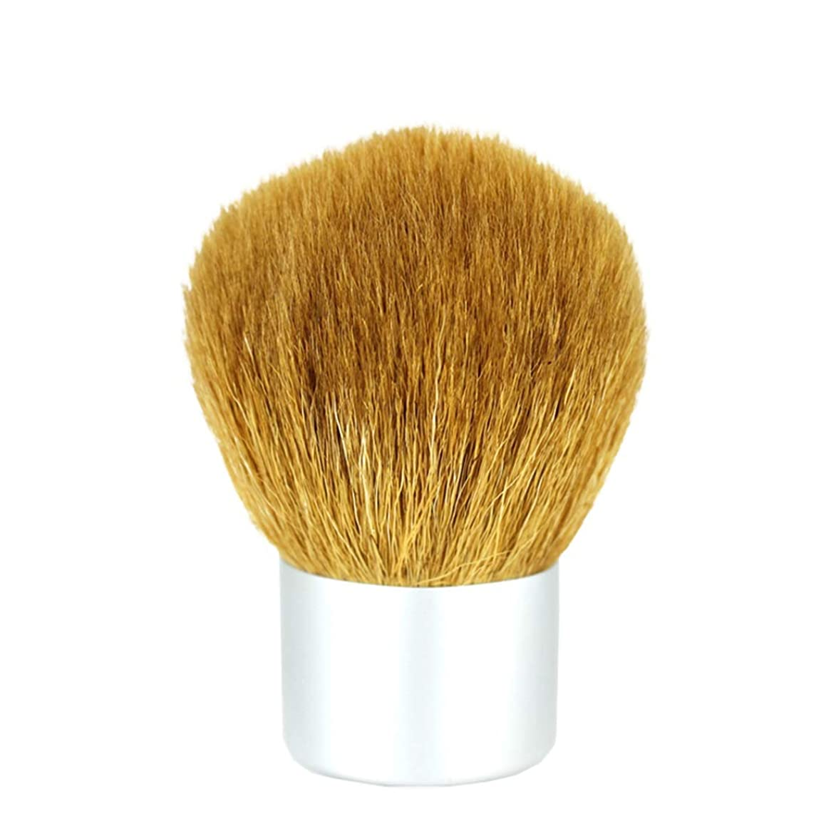 メアリアンジョーンズエレベーター条約Sdhisi Iu 2本の化粧ブラシツールファンデーションウールフェイス化粧ブラシ (色 : Silver)