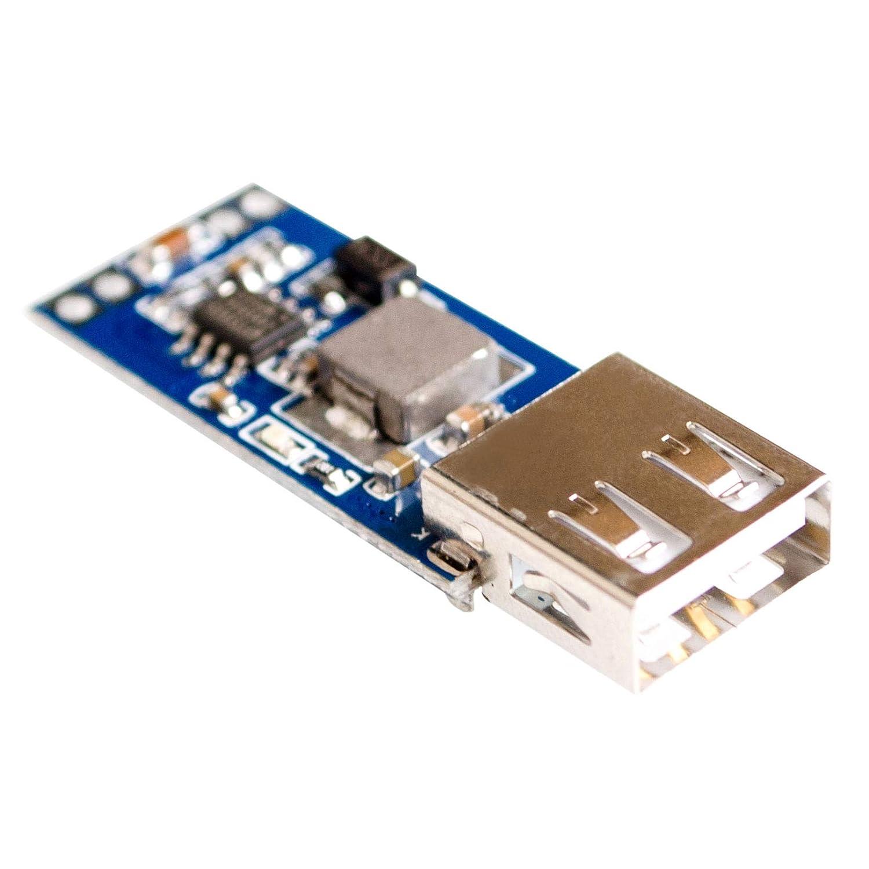 9V 12V 24V to 5V 3A USB Step-Down Voltage Regulator Module DC-DC Converter Phone Charger Car Power Supply Module