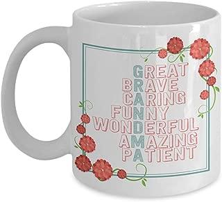 Small Bear Bear,GRANDMA Acronym, Proud Grandma Mug