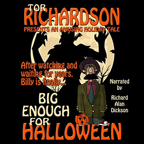 Big Enough for Halloween audiobook cover art