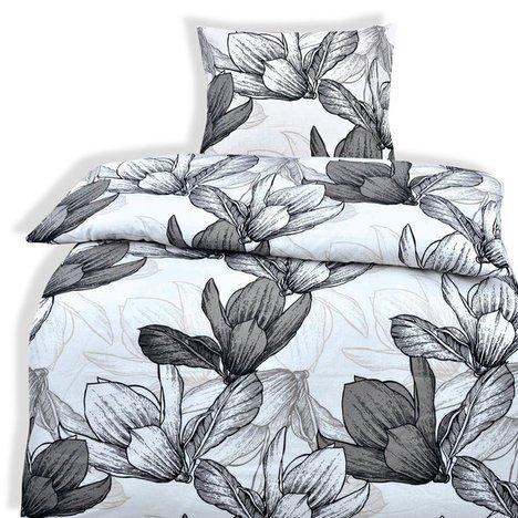 4-piezas primera CALIDAD-juego de cama Miriam 2 x 135 x 200 2 x 80 + funda de edredón y funda de almohada, 100% algodón