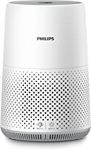 Philips Series 800 Air Purifier AC0819/90, removes 99.5% of particles as small as 0.003um, up to 527 sq.ft