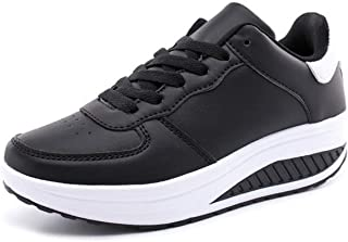 Pour femme à Enfiler Marche Baskets Gym Léger aller Escarpins Chaussures Taille