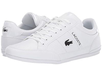 Lacoste Chaymon 419 2 U (White/Black) Men