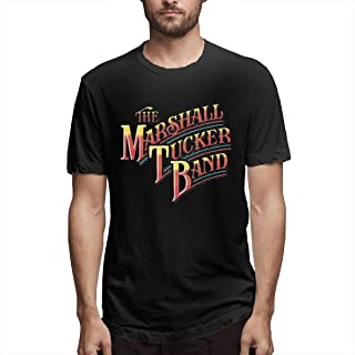 Jamychalsh The Marshall Tucker Band Rainbow Logo T-Shirts for Men Graphic